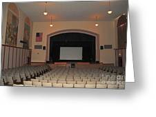 Auditorium In Clare Michigan Greeting Card
