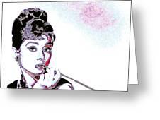 Audrey Hepburn 20130330 Greeting Card