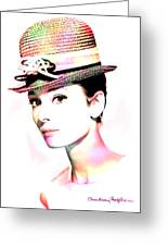Audrey Hepburn 6 Greeting Card