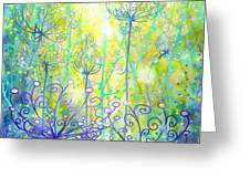 August Enchanted Greeting Card