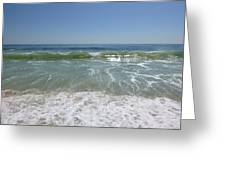 August Ocean Greeting Card