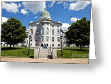 Augusta Capitol Building Greeting Card