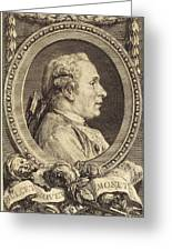 Augustin De Saint-aubin After Charles-nicolas Cochin II Greeting Card