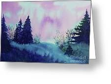 Aurora Borealis I Greeting Card