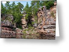 Ausable Chasm 1608 Greeting Card