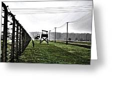 Aushwitz-birkenau Greeting Card