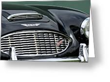 Austin-healey 3000 Grille Emblem Greeting Card