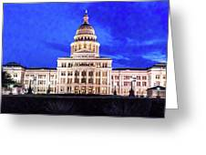 Austin State Capitol Building, Texas - Greeting Card