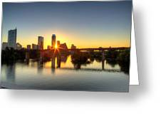 Austin Sunrise Greeting Card