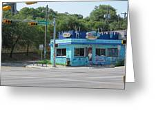 Austin Texas Congress Street Shop Greeting Card