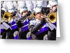 Austin Texas - Marching Band Celebrate Greeting Card