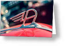 Austin Truck Classic Badge Greeting Card