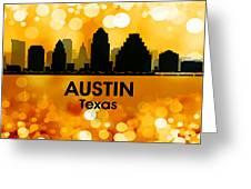 Austin Tx 3 Greeting Card