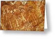 Australia Ancient Aboriginal Art 3 Greeting Card