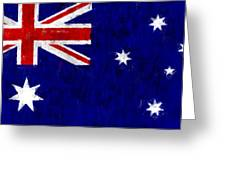Australia Flag Greeting Card