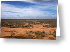 Australia Null Harbor Plain Greeting Card