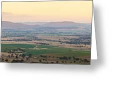 Australian Country Panorama Greeting Card