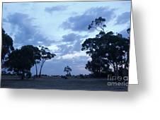 Australian Countryside Greeting Card