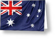 Australian Flag Greeting Card