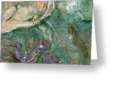 Australian Ore Mines Greeting Card