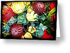 Australian Wild Flowers Greeting Card