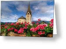 Austrian Church Greeting Card
