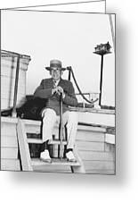 Author Booth Tarkington Greeting Card