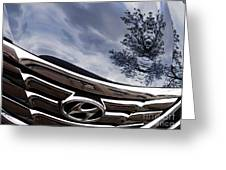 Auto Grill 14 Greeting Card