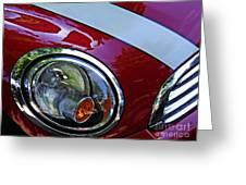 Auto Headlight 168 Greeting Card