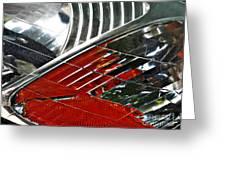 Auto Headlight 42 Greeting Card