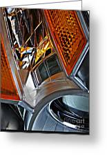 Auto Headlight 52 Greeting Card