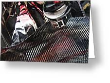 Auto Headlight 89 Greeting Card