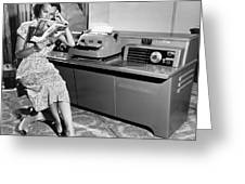 Automatic Typewriter Greeting Card