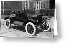 Automobile, 1921 Greeting Card