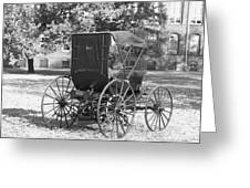 Automobile Duryea, 1893-94 Greeting Card