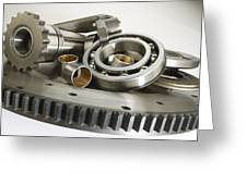 Automotive Clutch Parts Greeting Card
