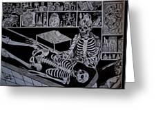 Autopsy Greeting Card