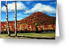 Autum Hill Greeting Card
