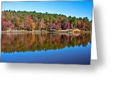 Autum Reflection Greeting Card