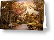 Autumn Aesthetic Greeting Card