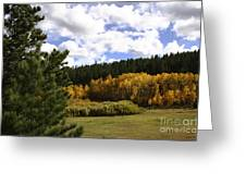 Autumn Along 285 Greeting Card