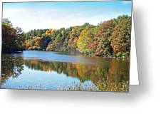 Autumn At Durand Greeting Card