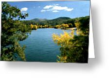 Autumn At Lynx Lake Greeting Card by Kurt Van Wagner