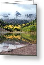 Autumn At Maroon Bells In Colorado Greeting Card