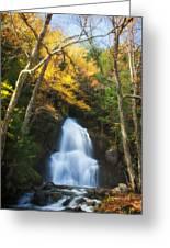 Autumn At Moss Glenn Falls Greeting Card