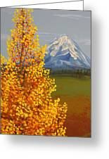 Autumn At Mt Shasta Greeting Card