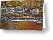 Autumn At Olmsted Falls Greeting Card