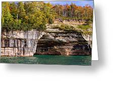 Autumn At Pictured Rocks Greeting Card