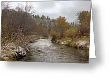 Autumn At Prickly Pear Creek Greeting Card