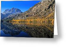 Autumn At Silver Lake Greeting Card